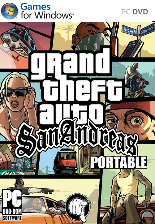 Descargar GTA San Andreas Portable Full Español Google Drive | MEGA | 1Ficher | Uptobox