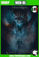 Descarga Game of Thrones Temporada 7×07 1080P HD WEB-DL Español Latino
