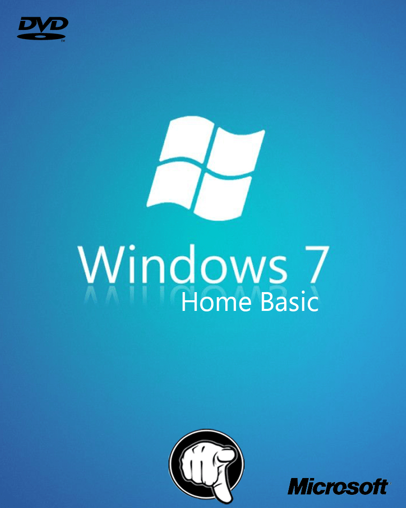 Windows 7 Home Basic x 64 Bits ISO Original