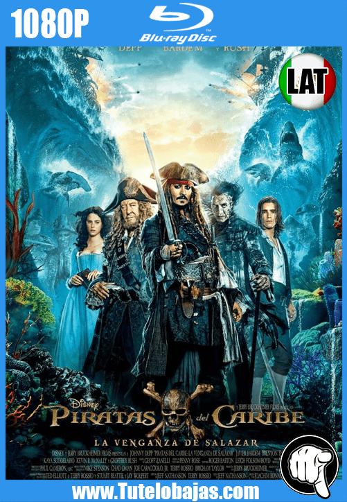 Descargar Piratas del caribe: La venganza de Salazar (2017) 1080P Full HD Español Latino, Inglés Gratis