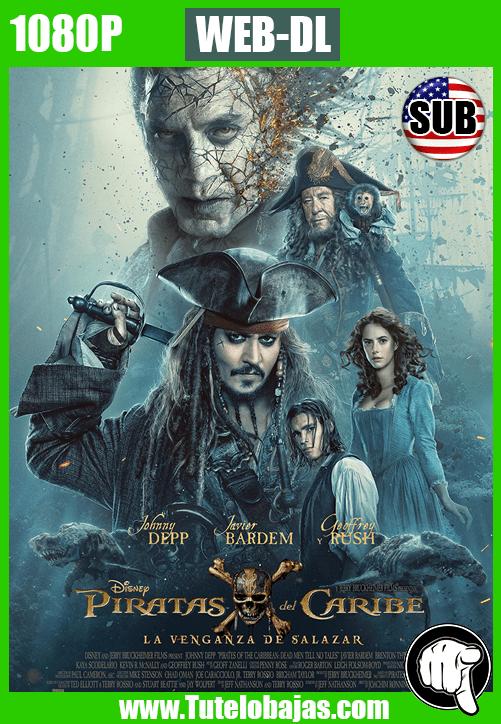 Descargar Piratas del caribe: La venganza de Salazar (2017) 1080P WEB-DL Inglés Subtitulada Gratis