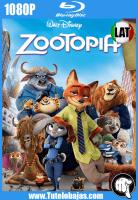 Descarga Zootopía (2016) 1080P Full HD Español Latino, Inglés Gratis