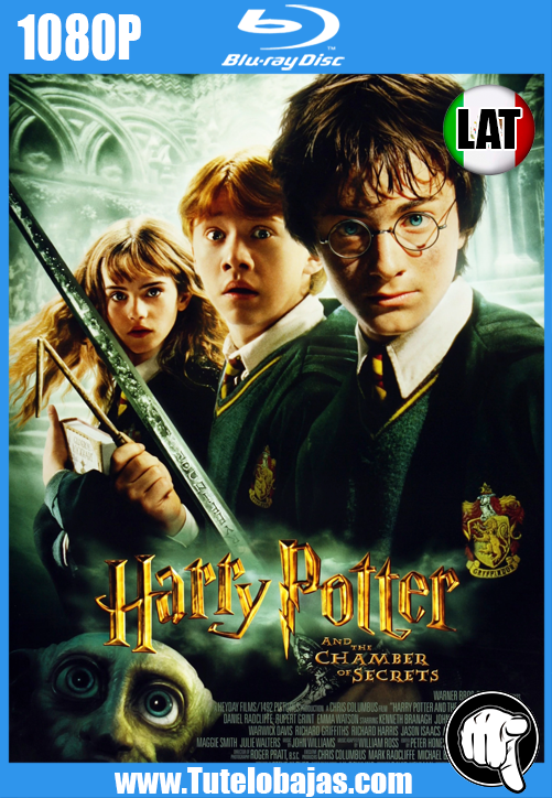Descarga Harry Potter y la cámara secreta (2002) 1080P Full HD Español Latino, Castellano, Inglés Gratis