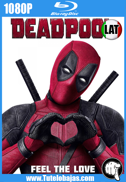 Descarga Deadpool (2016) 1080P Full HD Español Latino, Inglés Gratis