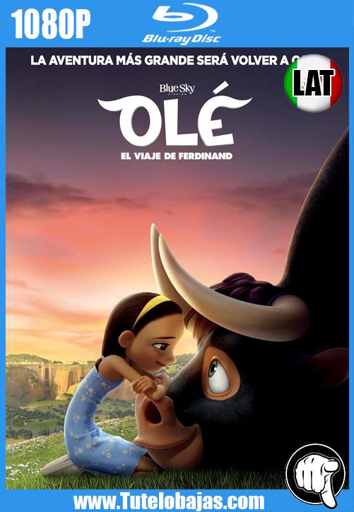 Descarga Olé, el viaje de Ferdinand (2017) 1080P Full HD Español Latino, Inglés Gratis