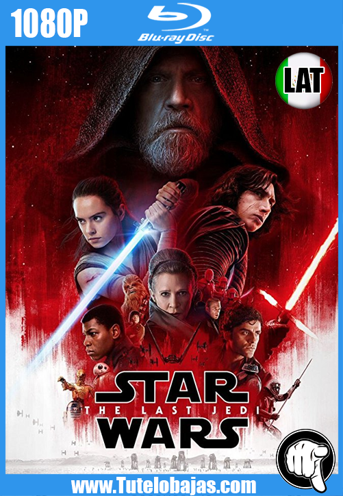 Descarga Star Wars: Episode VIII – The Last Jedi (2017) 1080P Full HD Español Latino, Inglés Gratis