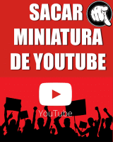 Extraer o Sacar Miniatura de un Video en Youtube HD